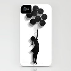 Banksy Fly Away  iPhone (4, 4s) Slim Case