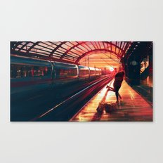 At Last Canvas Print