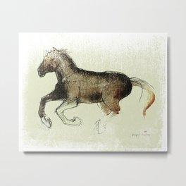 Horse (Gallop) Metal Print