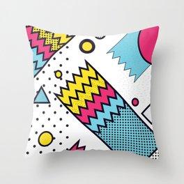 Zig Zag Design Throw Pillow