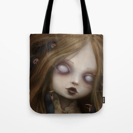 The face of all your fears Tote Bag