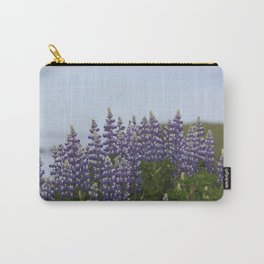 Lupine Flowers Photography Print Carry-All Pouch