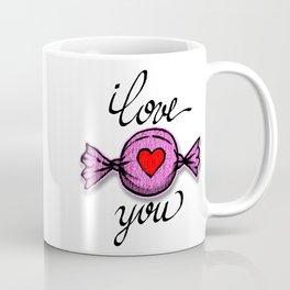 I love you (pink) Coffee Mug