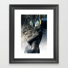 Her Cloak Framed Art Print