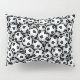 Soccer balls Pillow Sham