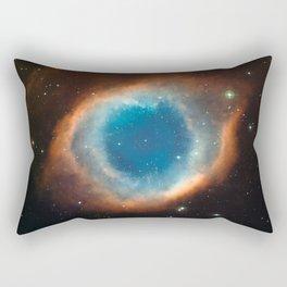The Helix Nebula Space Photo Rectangular Pillow