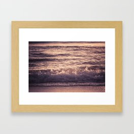 Atlantic Ocean Waves 4195 Framed Art Print