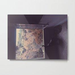 Window watching. Metal Print