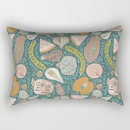 peas on earth Rectangular Pillow