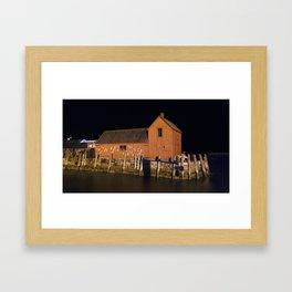 Night at Motif #1 Framed Art Print