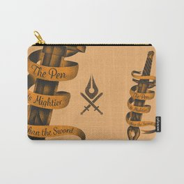 The Pen is Mightier than the Sword Carry-All Pouch