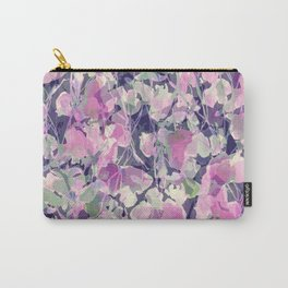 Pink Water Blossoms Carry-All Pouch