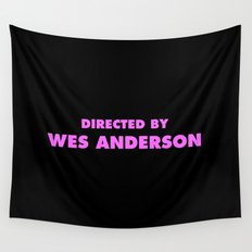Directed By Wes Anderson Wall Tapestry