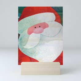 Santa Face Mini Art Print