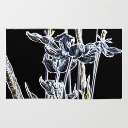 Pop Art Digital Photo Tulips jjhelene design Rug