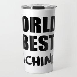 worlds best machinist Travel Mug