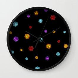 D20 Dice Wall Clock