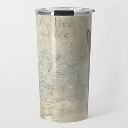 Iceland, forged by fire and ice Travel Mug