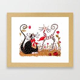Forever Sweethearts Framed Art Print