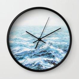 Spellbound Seas Wall Clock