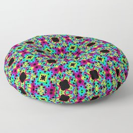 Geometric Colors 2 Floor Pillow