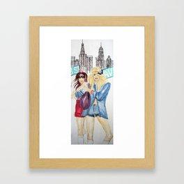 New York Dolls Framed Art Print
