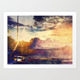 Weathered the Storm Art Print