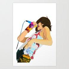Karen O-h mah lord  Art Print