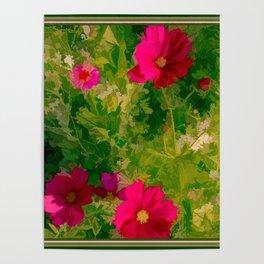 Floral Meanderings Poster