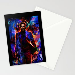 keanu reeves Stationery Cards