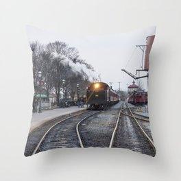 Strasburg Railroad Series 25 Throw Pillow