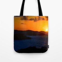 Coral Bay Sunrise Tote Bag