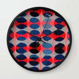 satori pattern Wall Clock