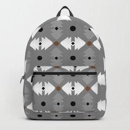 Modern Desert Fox Southwest Pattern Backpack