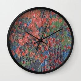 Autumn 11 Wall Clock
