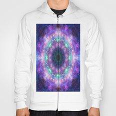 Trippy Purple Deep Space Mandala Hoody