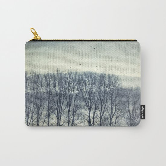 Trees in Mist Carry-All Pouch