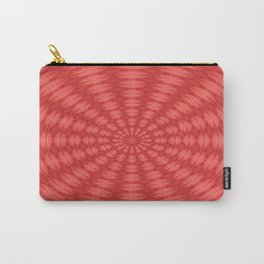 Succulent Red and Yellow Flower Abstract  Carry-All Pouch