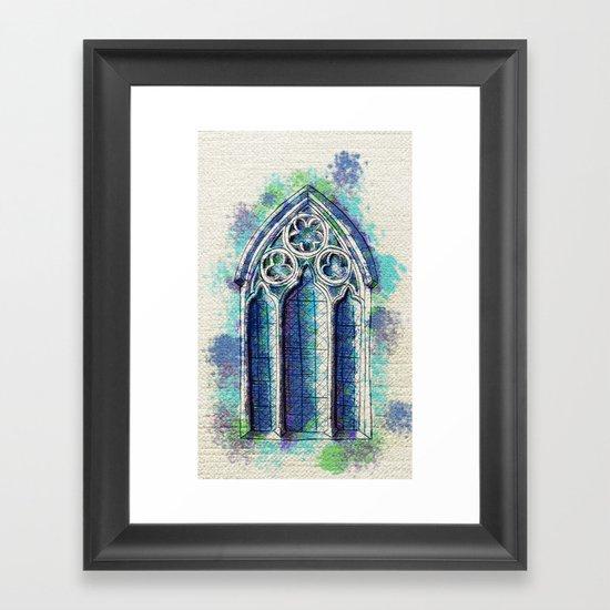 """""""Gothic Revival"""" Framed Art Print"""