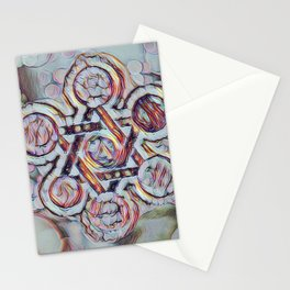 Silver Star Of David Stationery Cards