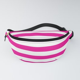 Horizontal Pink Stripes Fanny Pack