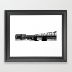New Hope Bridge Framed Art Print