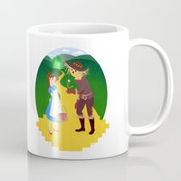 oz Mugs featuring Oz by Kyrstin Avello