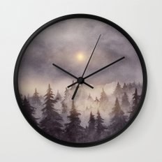 Into The Forest III Wall Clock