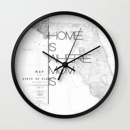 Mother's Day - Florida Wall Clock