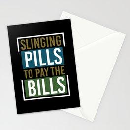 Pharmacist Pharmacy pharmacists Saying Gift Drug Stationery Cards