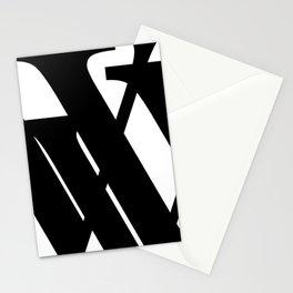 Hidden Letters. Baskerville V Stationery Cards