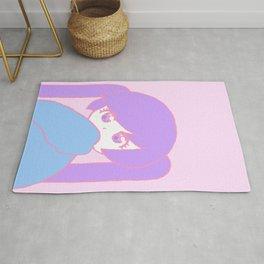 Anime Pastel Girl Rug