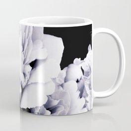 Peony Flower Bouquet Black and White #decor #society6 #buyart Coffee Mug