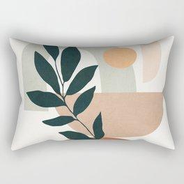 Soft Shapes IV Rectangular Pillow